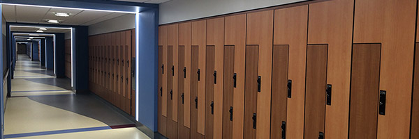 SUNY Upstate Locker Design